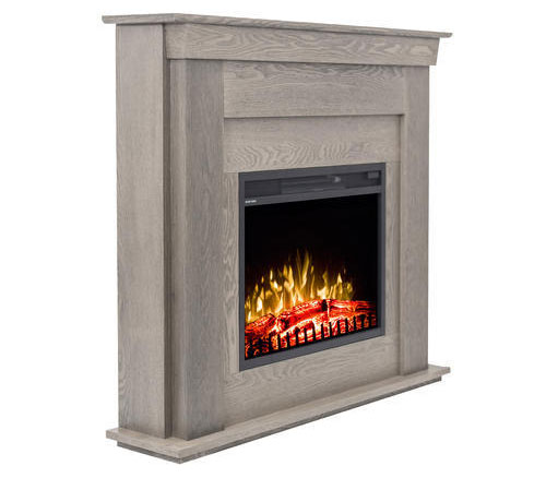 Dummy Electric Fireplace With Mdf Mantel Complete