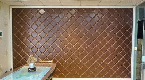 Leather Foam Wall Coverings